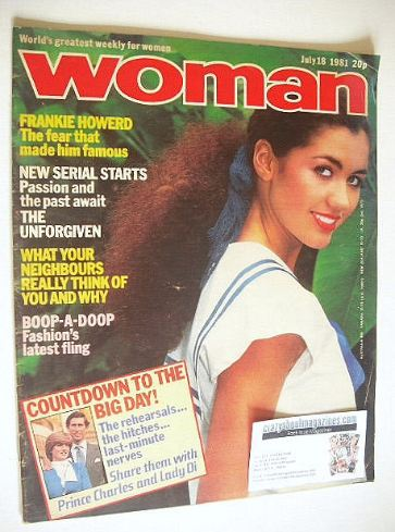 <!--1981-07-18-->Woman magazine (18 July 1981)