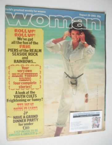 <!--1981-08-29-->Woman magazine (29 August 1981)