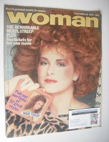<!--1981-09-19-->Woman magazine (19 September 1981)