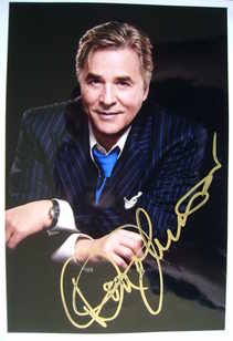 Don Johnson autograph (hand-signed photograph)