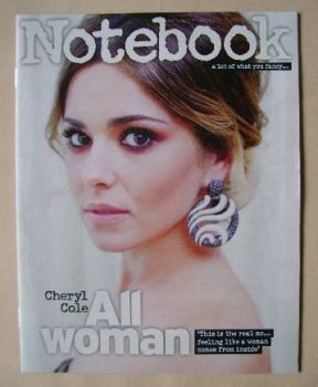 Notebook magazine - Cheryl Cole cover (8 June 2014)