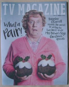 The Sun TV magazine - 19 December 2015 - Brendan O'Carroll cover