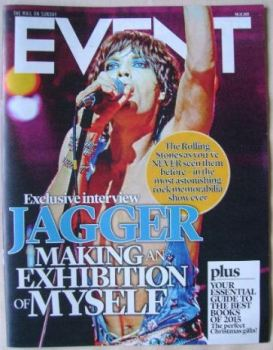 Event magazine - Mick Jagger cover (6 December 2015)
