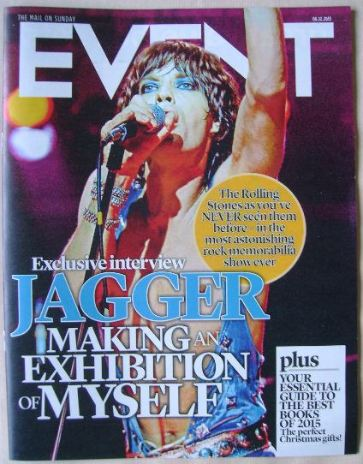 <!--2015-12-06-->Event magazine - Mick Jagger cover (6 December 2015)