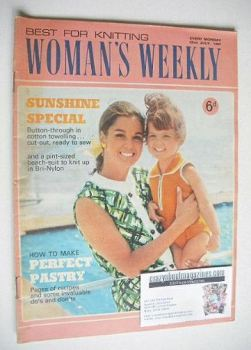 Woman's Weekly magazine (22 July 1967)
