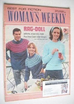 Woman's Weekly magazine (28 October 1967)