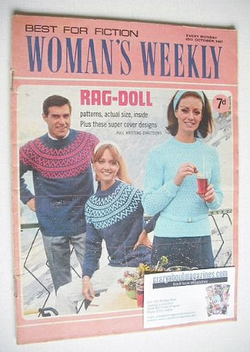 <!--1967-10-28-->Woman's Weekly magazine (28 October 1967)