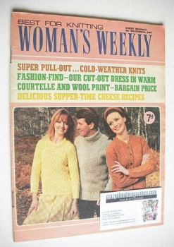 Woman's Weekly magazine (4 November 1967)