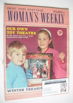 Woman's Weekly magazine (16 December 1967)