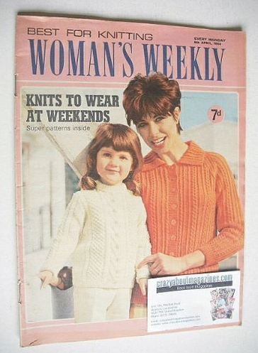 <!--1968-04-06-->Woman's Weekly magazine (6 April 1968)