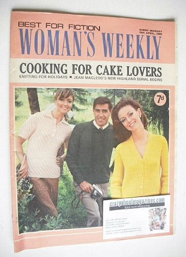 <!--1968-04-13-->Woman's Weekly magazine (13 April 1968)