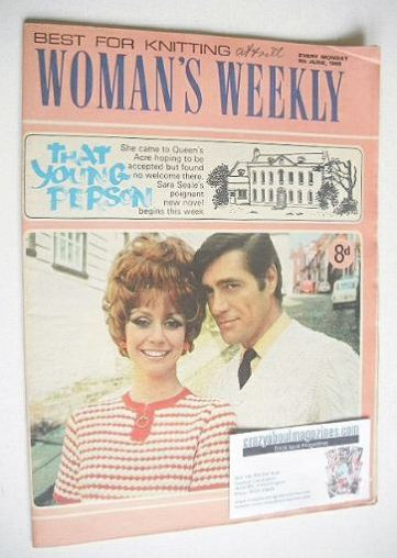 <!--1968-06-08-->Woman's Weekly magazine (8 June 1968)