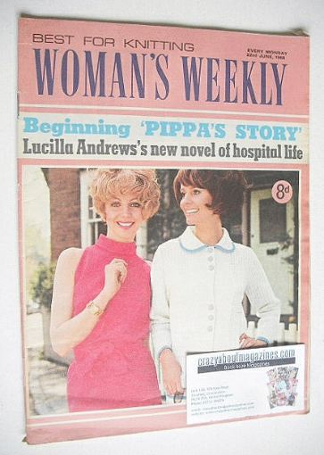 <!--1968-06-22-->Woman's Weekly magazine (22 June 1968)