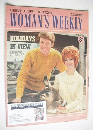 <!--1968-06-29-->Woman's Weekly magazine (29 June 1968)