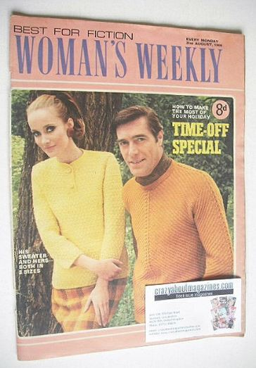 <!--1968-08-31-->Woman's Weekly magazine (31 August 1968)