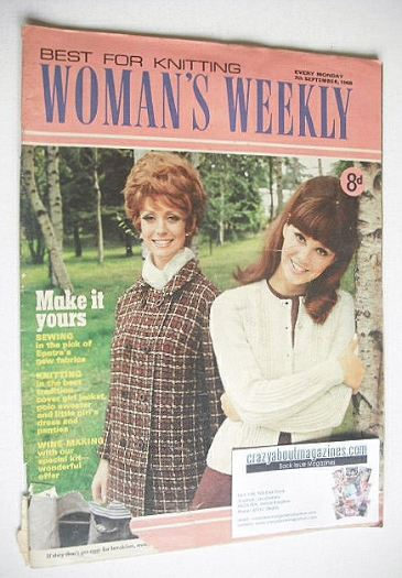 <!--1968-09-07-->Woman's Weekly magazine (7 September 1968)