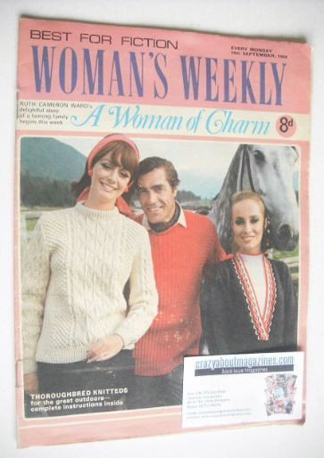 <!--1968-09-14-->Woman's Weekly magazine (14 September 1968)