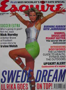 Esquire magazine - Ulrika Jonsson cover (October 1996)