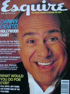 Esquire magazine - Danny DeVito cover (June 1994)