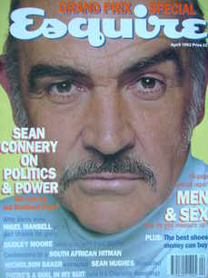 Esquire magazine - Sean Connery cover (April 1992)