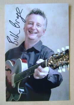 Billy Bragg autograph