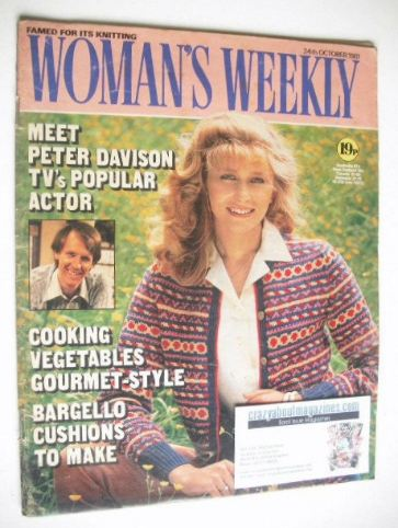 <!--1981-10-24-->Woman's Weekly magazine (24 October 1981 - British Edition