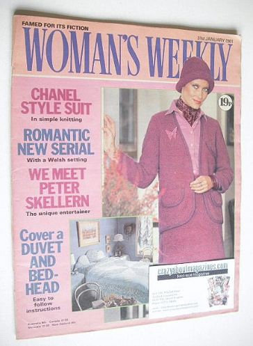 <!--1981-01-31-->Woman's Weekly magazine (31 January 1981)