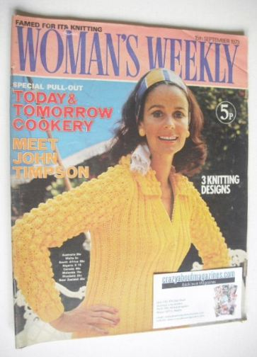 <!--1973-09-15-->Woman's Weekly magazine (15 September 1973)