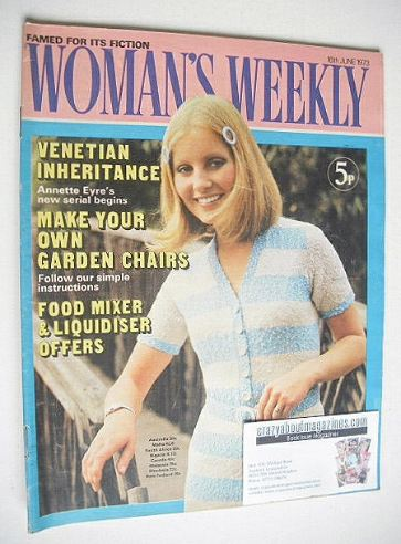 <!--1973-06-16-->Woman's Weekly magazine (16 June 1973)