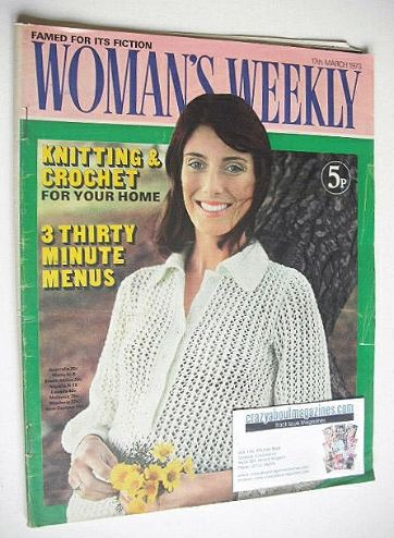 <!--1973-03-17-->Woman's Weekly magazine (17 March 1973)