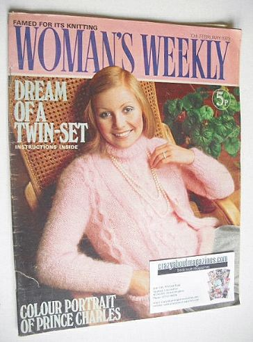 <!--1973-02-10-->Woman's Weekly magazine (10 February 1973)