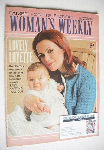 <!--1969-03-29-->Woman's Weekly magazine (29 March 1969)