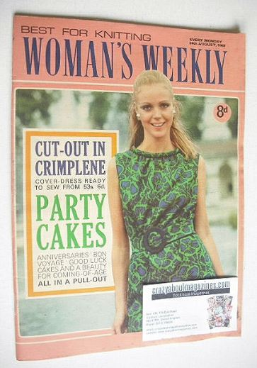 <!--1968-08-24-->Woman's Weekly magazine (24 August 1968)