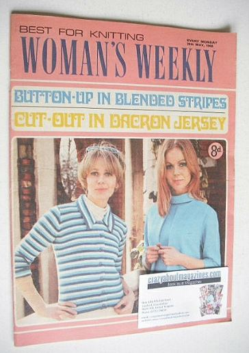 <!--1968-05-28-->Woman's Weekly magazine (25 May 1968)