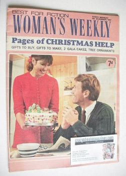 Woman's Weekly magazine (9 December 1967)