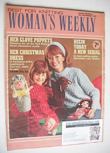 <!--1967-12-02-->Woman's Weekly magazine (2 December 1967)