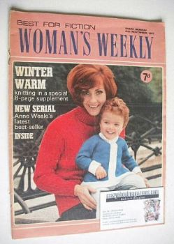 Woman's Weekly magazine (11 November 1967)