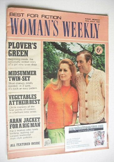 <!--1967-07-15-->Woman's Weekly magazine (15 July 1967)