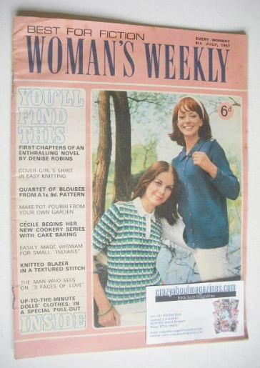 <!--1967-07-08-->Woman's Weekly magazine (8 July 1967)