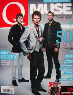 Q magazine - Muse and U2 cover (July 2010)