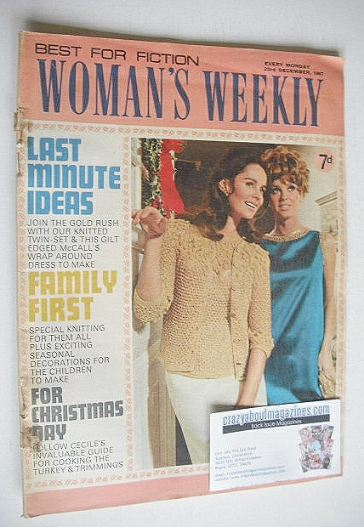 <!--1967-12-23-->Woman's Weekly magazine (23 December 1967)