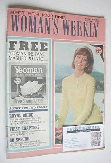 <!--1967-05-06-->Woman's Weekly magazine (6 May 1967)