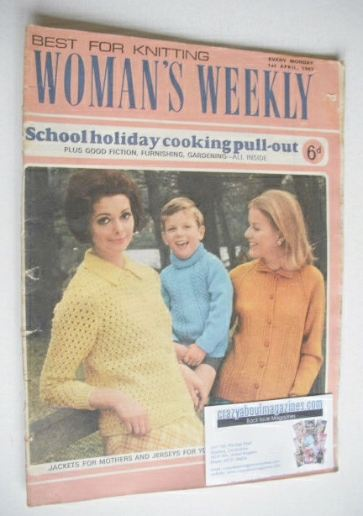 <!--1967-04-01-->Woman's Weekly magazine (1 April 1967)