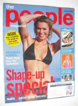 The People magazine - 6 July 2003 - Nell McAndrew cover