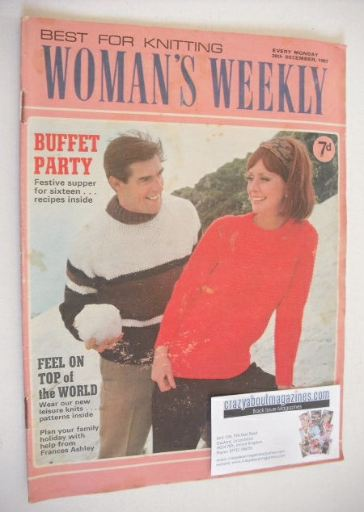 <!--1967-12-30-->Woman's Weekly magazine (30 December 1967)