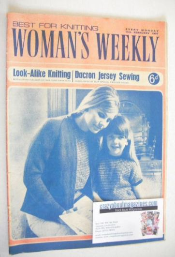 <!--1967-02-11-->Woman's Weekly magazine (11 February 1967)