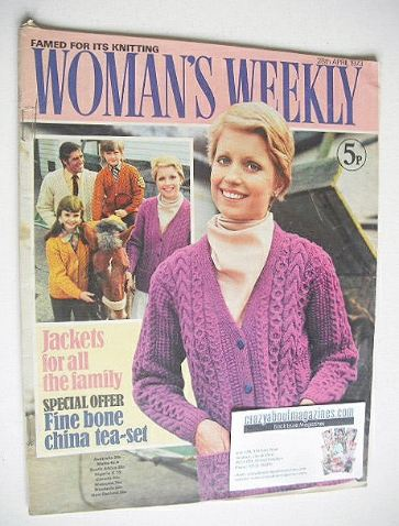 <!--1973-04-28-->Woman's Weekly magazine (28 April 1973)