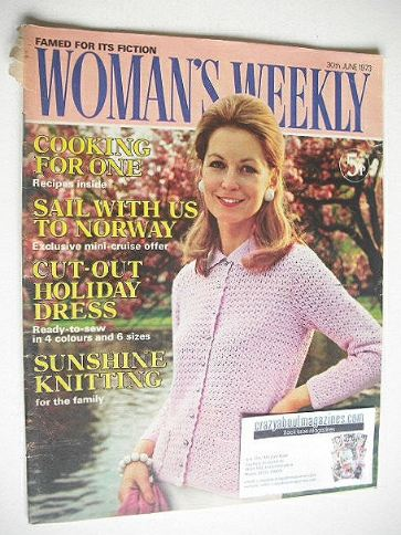<!--1973-06-30-->Woman's Weekly magazine (30 June 1973)