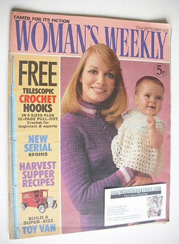 <!--1973-09-22-->Woman's Weekly magazine (22 September 1973)