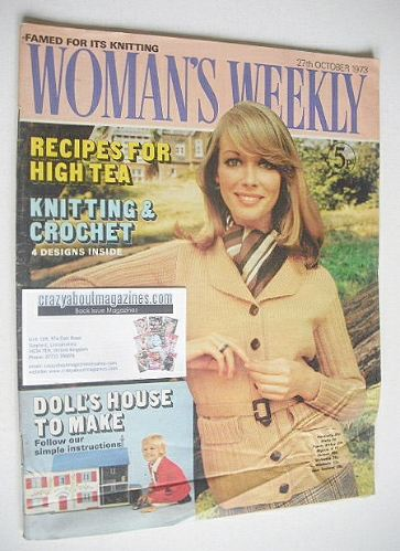 <!--1973-10-27-->Woman's Weekly magazine (27 October 1973)